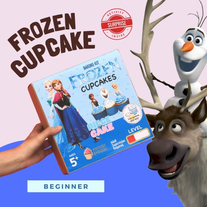 Cupcake Baking Kit Piece of Cake Permainan Interaktif Mainan Anak