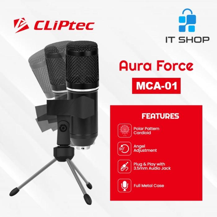 Cliptec Microphone Pod Casting Aura Force MCA-01 Image