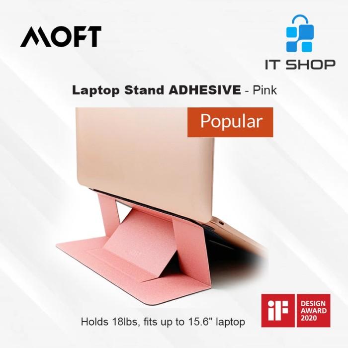 MOFT Laptop Stand Adhesive - Pink Image