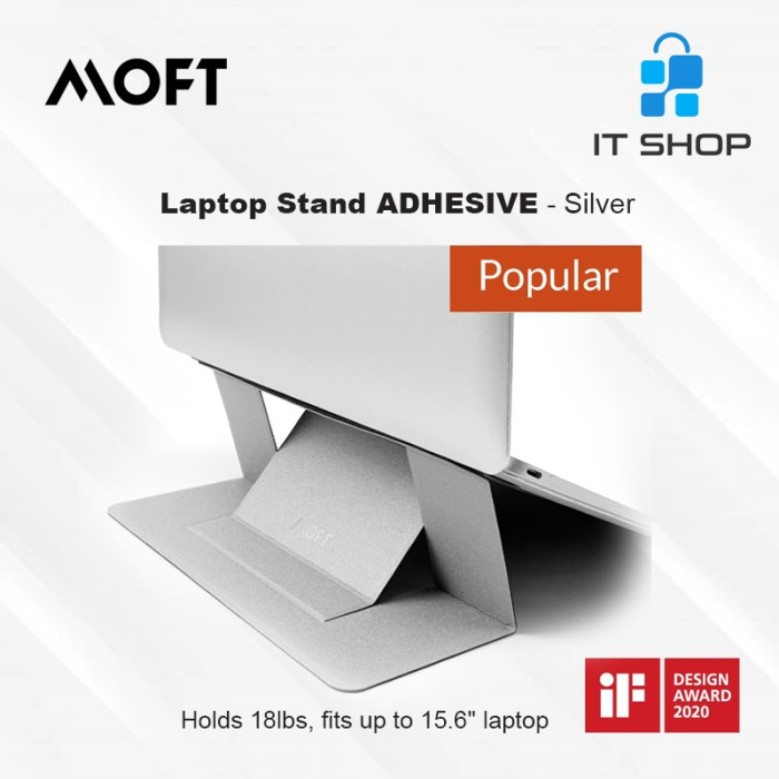 MOFT Laptop Stand Adhesive - Silver Image