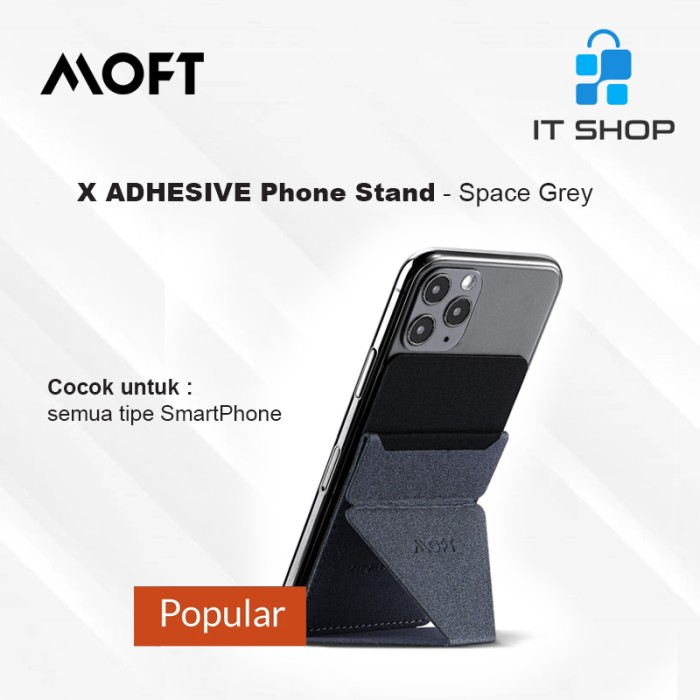 MOFT X Phone Stand - Space Gray Image