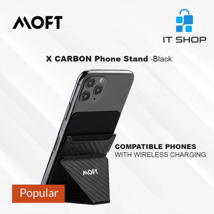 MOFT X Phone Stand Carbon - Black Image