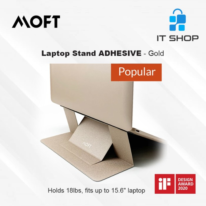 MOFT Laptop Stand Adhesive - Gold Image