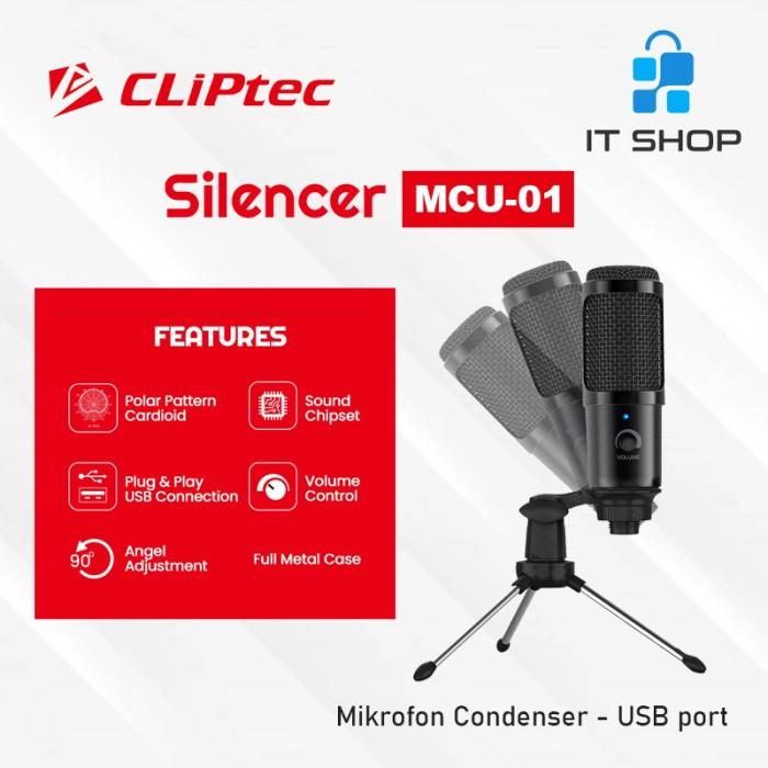Cliptec Microphone Pod Casting Silencer MCU-01 Image