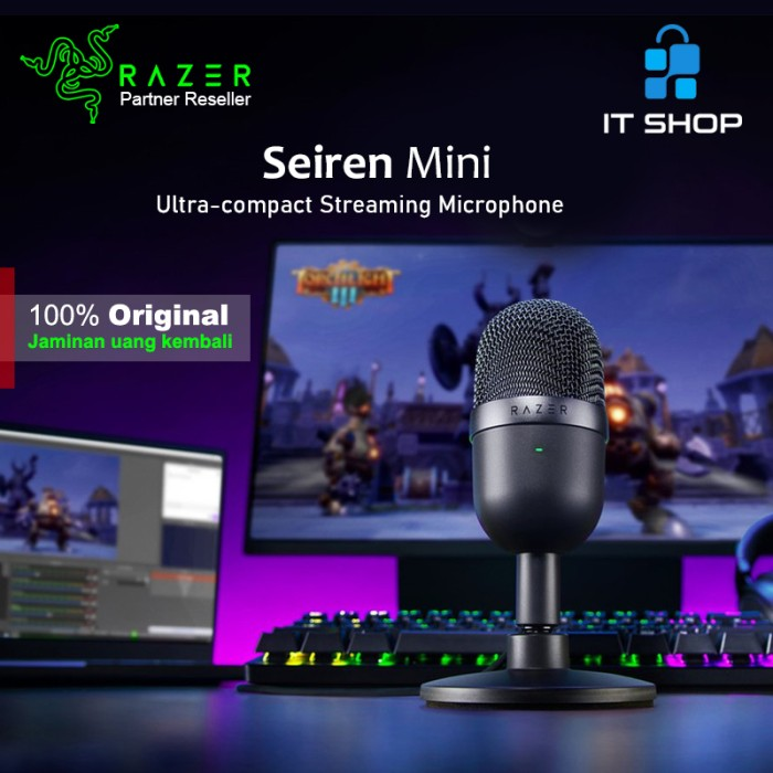Razer Microphone Seiren Mini - Black Image