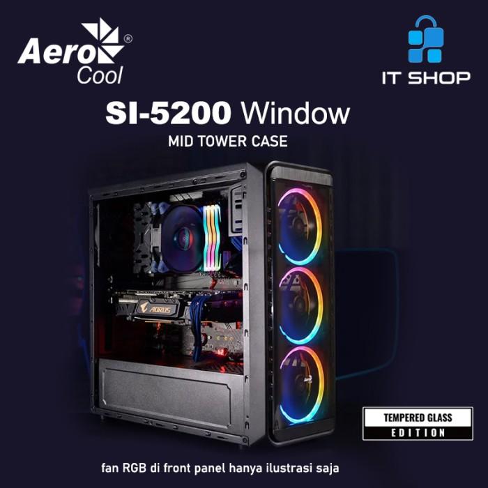 AeroCool Casing SI-5200 Window Image
