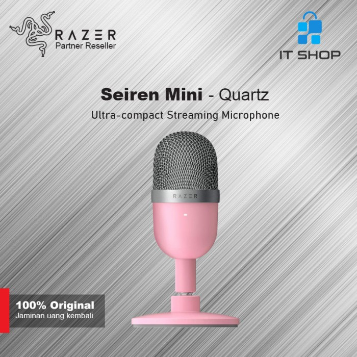 Razer Microphone Seiren Mini - Quartz Image