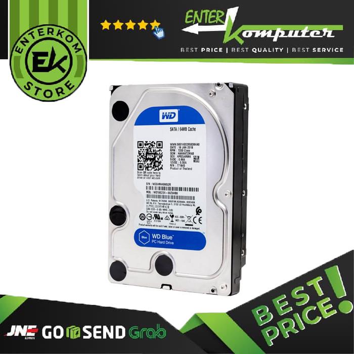 WDC 2TB SATA3 256MB - 7200RPM - Blue - WD20EZBX - Garansi 2 Th