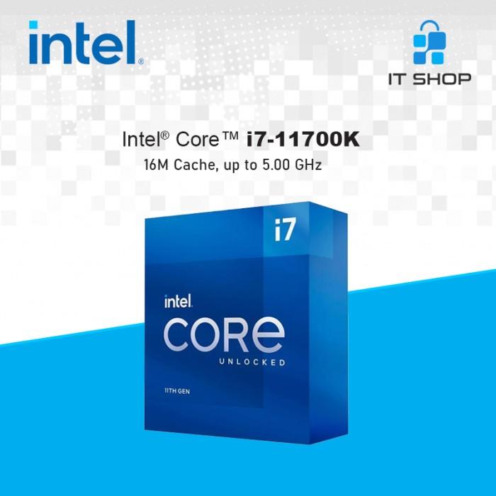 Processor Intel Core I7 11700K - LGA 1200 Box Image