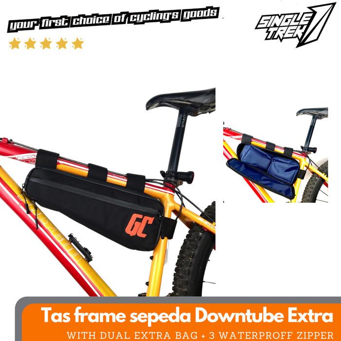 Tas Frame DownTube Sepeda Cycle Cross Sepeda Gunung MTB