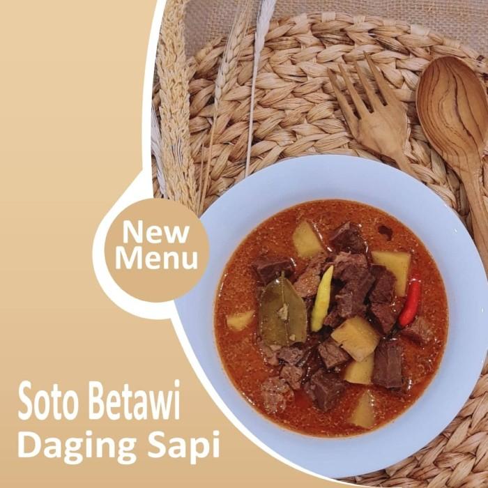 Soto Betawi Daging Sapi Frozen Foods (CA-JO Foods)