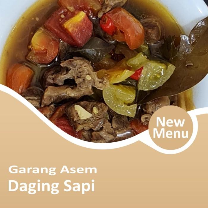 Garang Asem Daging Sapi Frozen Foods CA-JO Foods