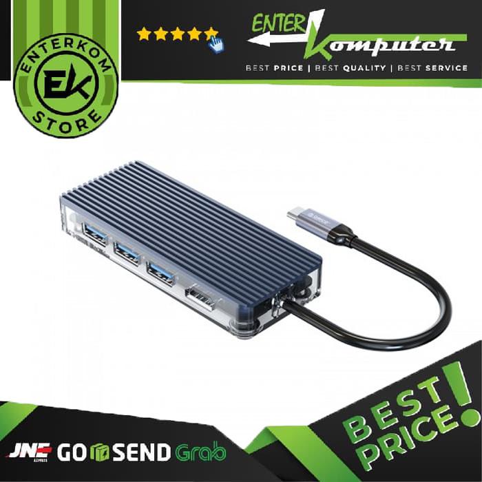 Orico WB-6RJ USB HUB Transparent