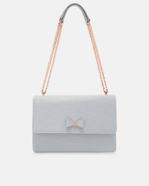 harga Delila bow detail leather cross body bag Tokopedia.com