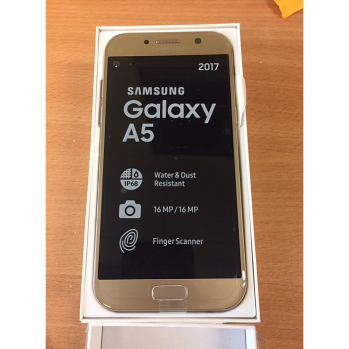 Jual Samsung Galaxy A5 2017 Gold Second Like New