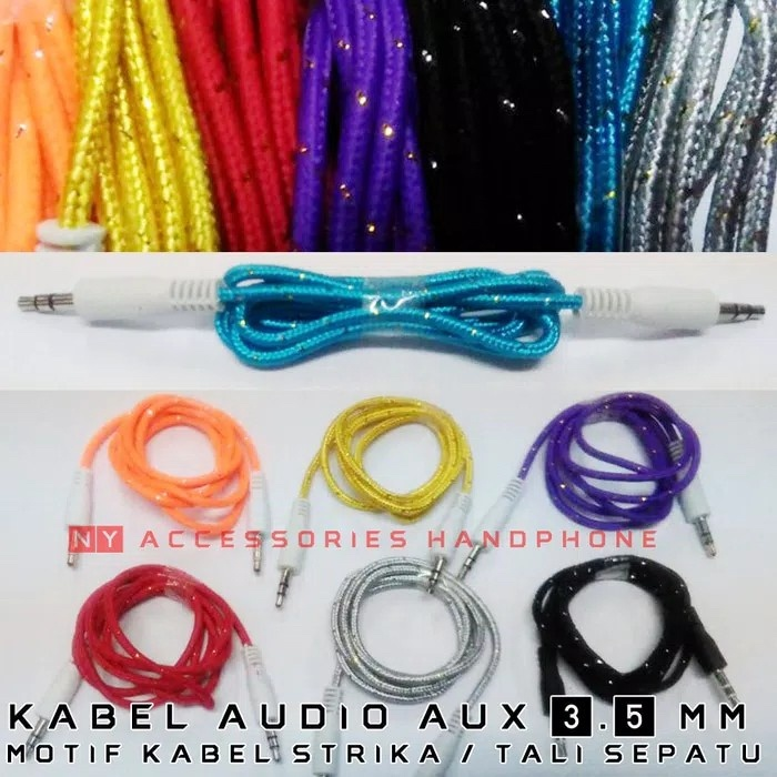 KABEL AUX TALI SEPATU KABEL AUDIO KABEL SPEAKER KABEL RCA 1 KE 1. 2.000 ·