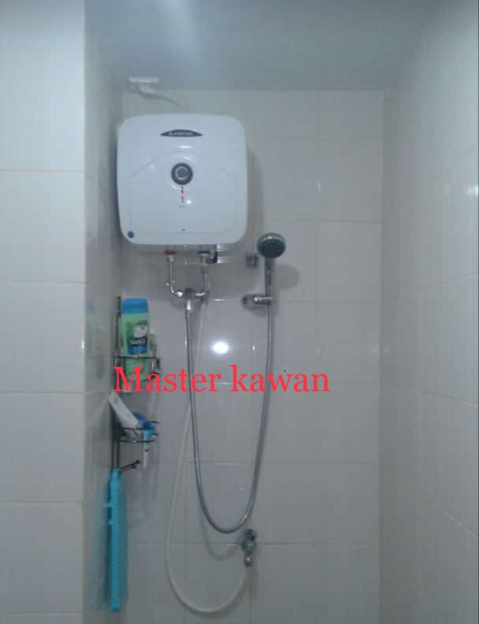 Foto Produk Kran Mini Mixer Panas Dingin Water Heater /Kran Shower Ariston Modena dari Master kawan