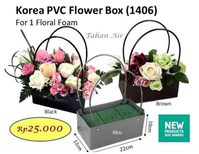 Jual Korean Pvc Flower Box Flower Bag Barang Florist Vas Bunga Jakarta Barat Aksesoris Tokobunga Tokopedia