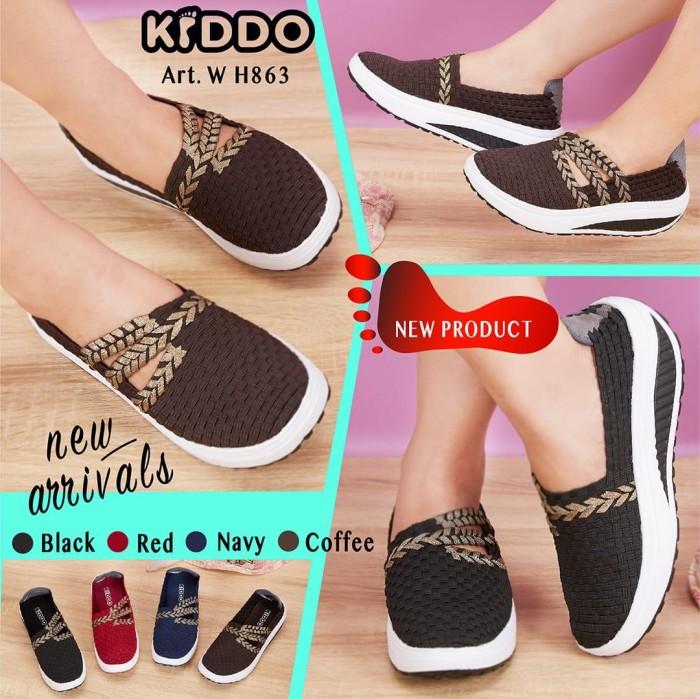 Jual kiddo w863 ORI sepatu rajut IMPORT wedges - GalaxyShoes-JKT ... 5fb72bc3bf
