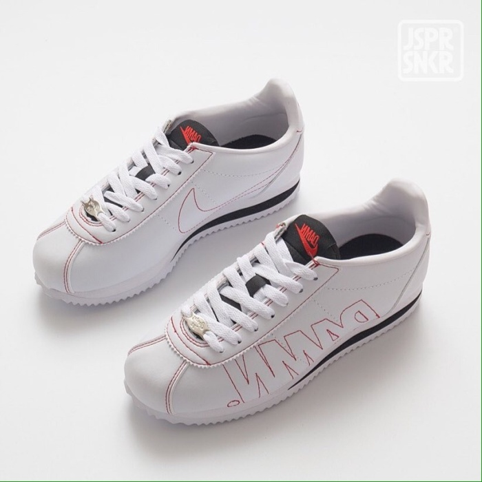 the best attitude 6ab28 9e75d Jual Kendrick Lamar x Nike Cortez - Damn White - Kota Bandung - Jasper  Sneakerz | Tokopedia