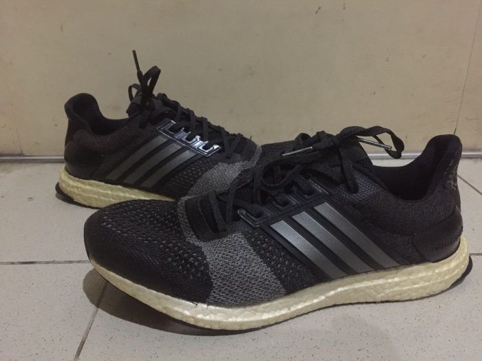 info for 44160 3f637 Jual ULTRA BOOST ST M BLACK SECOND ORIGINAL - Kab. Malang - SNEAKERS STATE  | Tokopedia