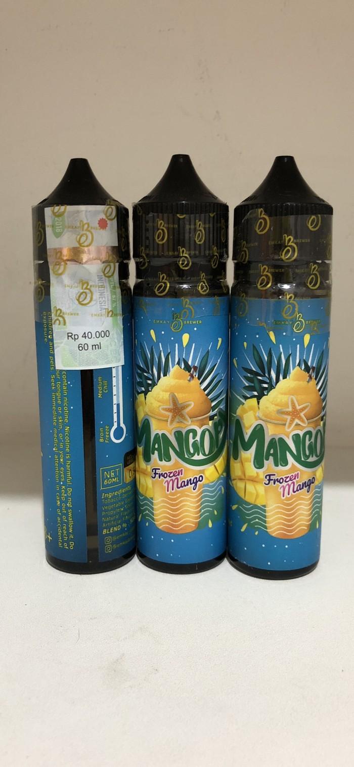 Murah 33 Daftar Harga Mangopy Frozen Mango 3mg 2018 Terbaru By Cmw 60ml Premium E Liquid Vapor Distribution Informasi Juice Manggo