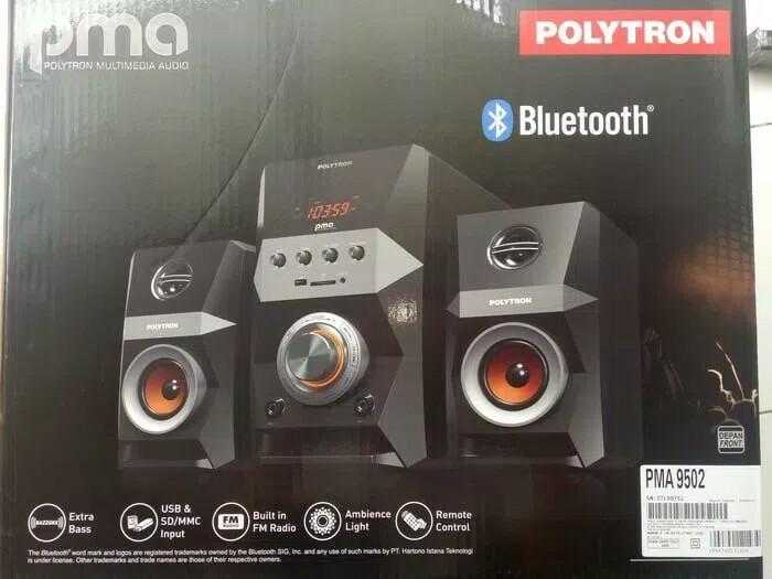 harga Speaker polytron pma9502 multimedia usb bluetooth fm radio Tokopedia.com