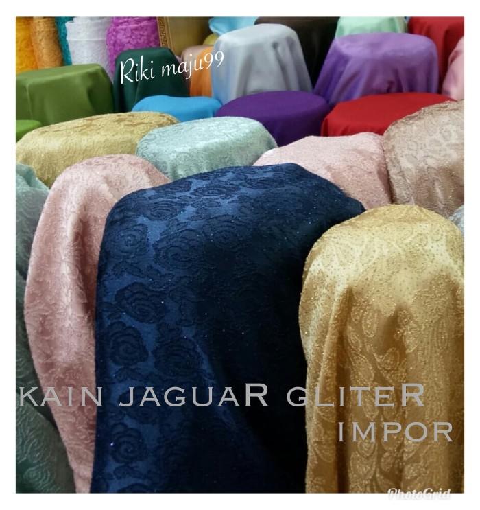 Jual Kain Jaguar Gliter Putih Jakarta Pusat Riki Maju99 Tokopedia