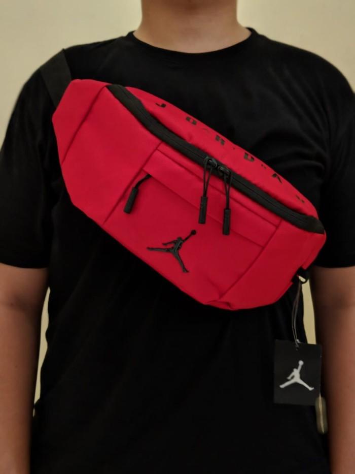 41e5304fef81c0 Jual Waist bag   sling   crossbody Nike Air Jordan Jumpman ORIGINAL ...