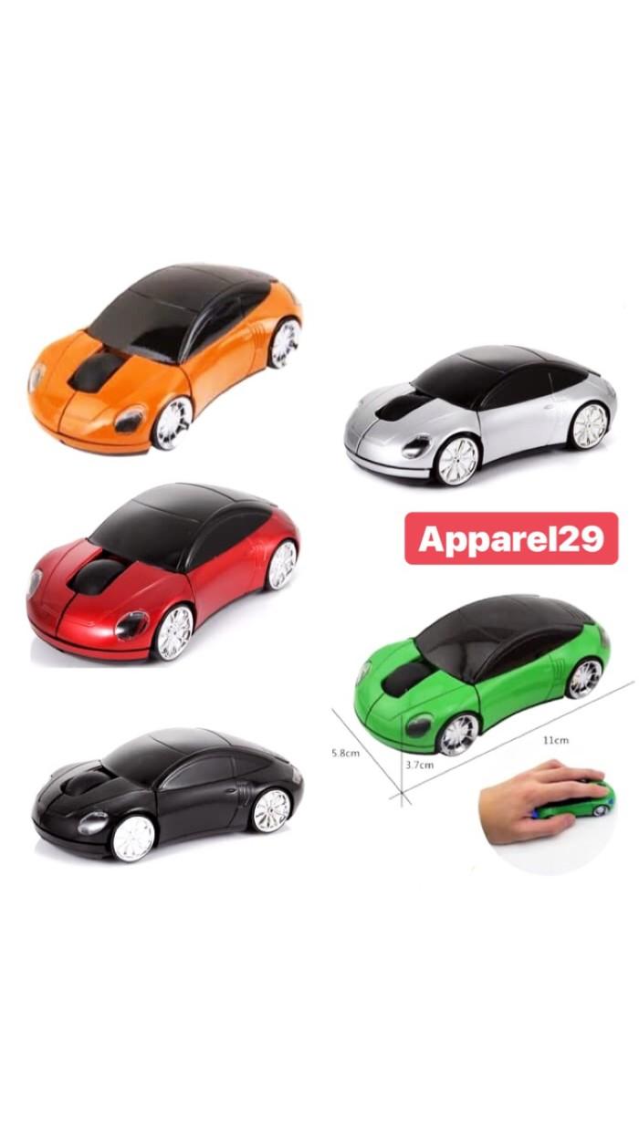 Foto Produk Mouse Wireless / Car mouse wireless LED optical 2.4Ghz dari apparel29