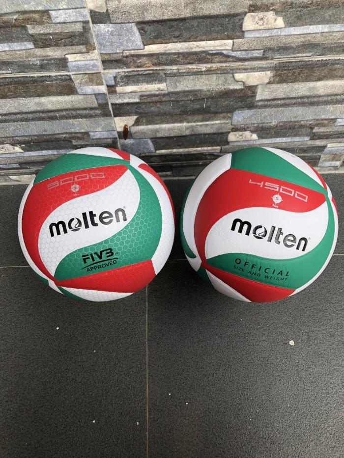 Bola voli mikasa3300gold molten 5000 volley ball