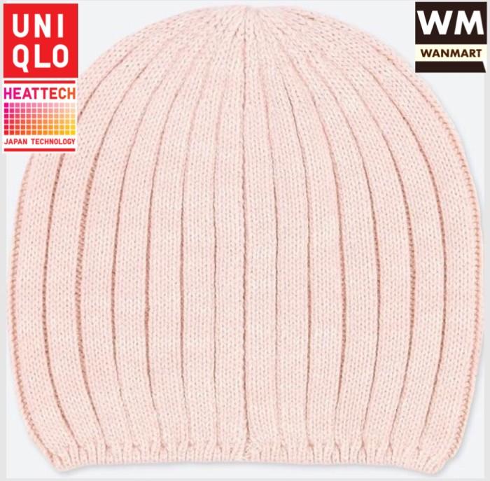02314ff160e Jual UNIQLO Women Heattech Knitted Beanie Topi Winter Rajut Wanita ...