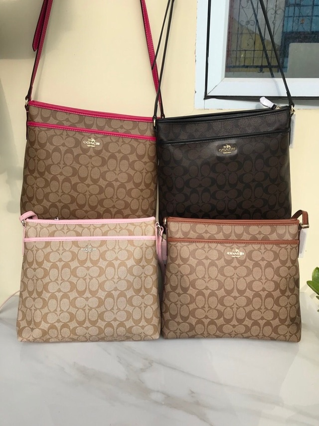 ... Women Black Genuine Leather Sling Bag Compare Price List From Coach  Sling Bags Source · Jual Tas Coach Sling Bag Original Toko Tas Marvel  Tokopedia af4335c6e1
