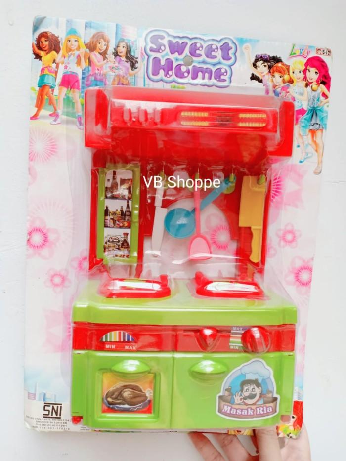 Jual Mainan Masak Masakan Dapur Kompor Nyala Masak Ria Sweet Home Besar Jakarta Pusat Vb Shoppe Tokopedia