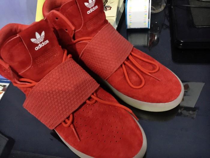 best loved 2e488 9b853 Jual Adidas Tubular Invader Strap Red - sam knicks knacks | Tokopedia
