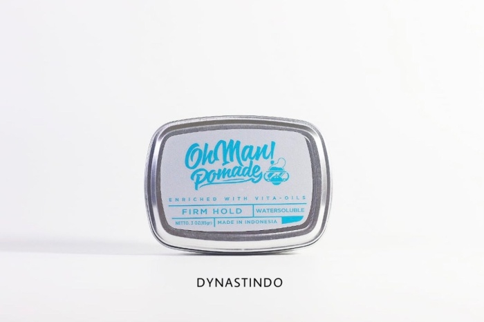 Pomade Oh Man Baby Nutri Blue Ohman Waterbased Mini Strong Hold Source · harga bpom pomade oh man nutri blue waterbased free sisir saku 85 gr