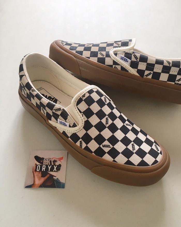 efa5e79c9b5 Jual Vans Oh Slip On 59 Lx Checkerboard Gum Sole - ORYXSNEAKERS ...