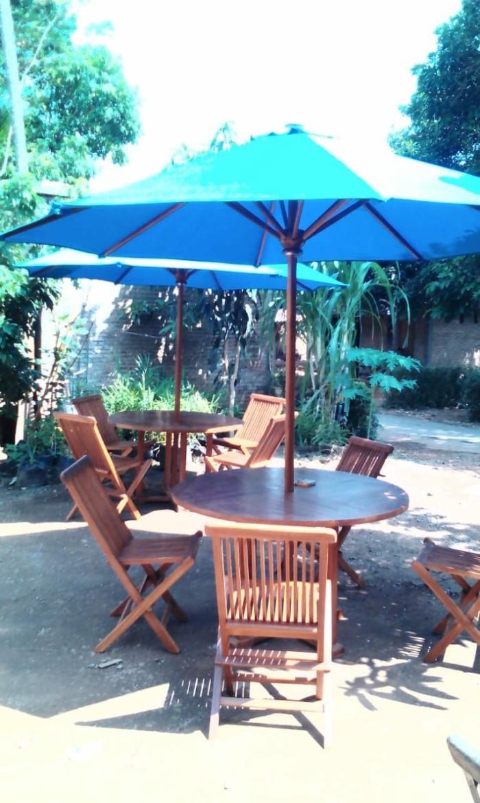Jual Grosir Meja Kursi Payung Cafe Hotel Resto Taman Waterboom Kab Jepara Qinara Store