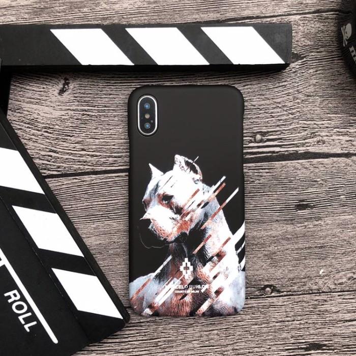harga Marcelo burlon premium case iphone 7 7+ 8 8+ x mirror quality pitbull Tokopedia.com