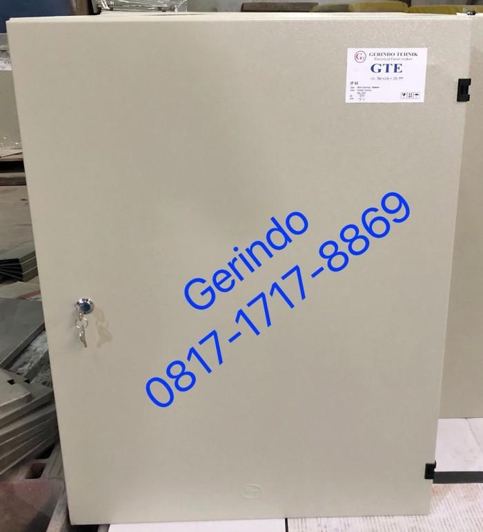Box panel listrik indoor uk 80x60x20cm / 80 x 60 x 20cm plat 1.2mm