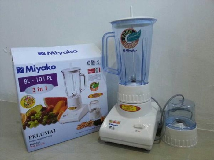 Jual Blender Miyako 2 In 1 101 Pl Plastik Kota Tangerang Pasifix