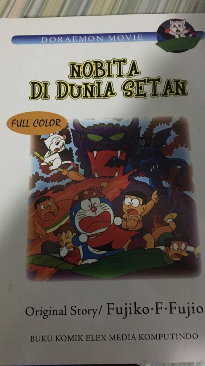Jual Doraemon Movie Nobita Di Dunia Setan Jakarta Utara Vaporex Shop