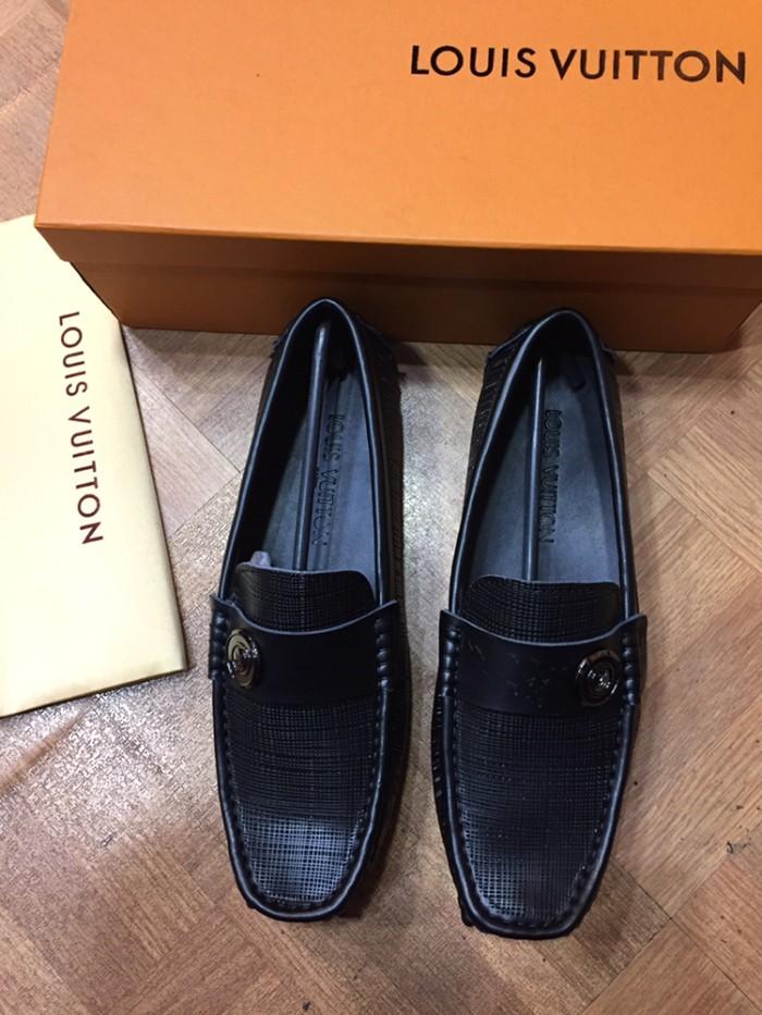 ce98b512760 harga Sepatu loafers louis vuitton kulit mirror 1 1 quality black series new  Tokopedia.