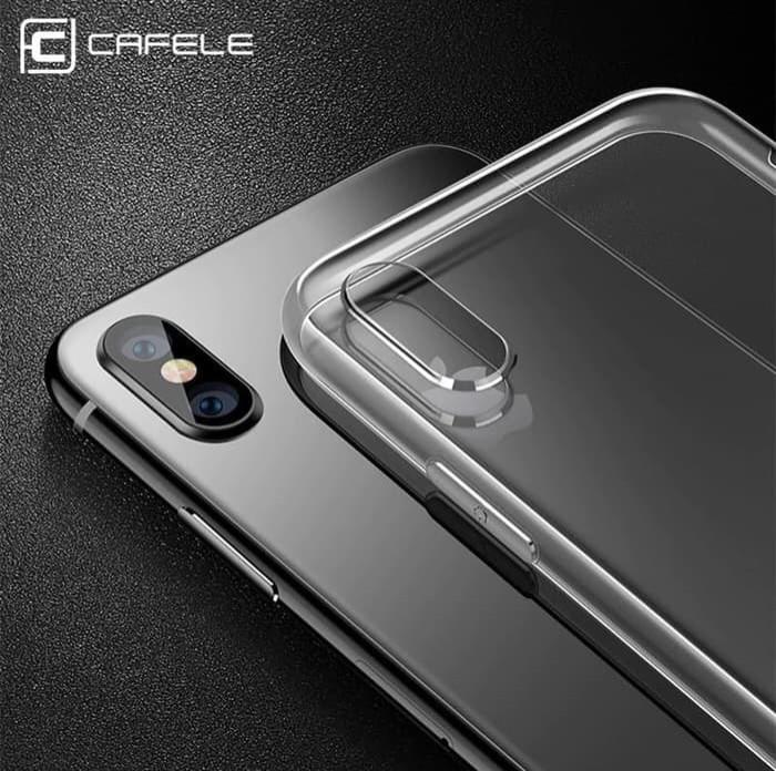 Foto Produk CAFELE Case Iphone X XS XR XS Max Transparent (Free Tempered Glass) dari NECKWEAR