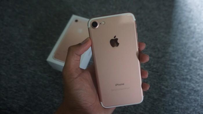 Jual IPHONE 7 ROSE GOLD 32 gb ORIGINAL Ex Inter Apple Fullset Second ... 435c0415cf