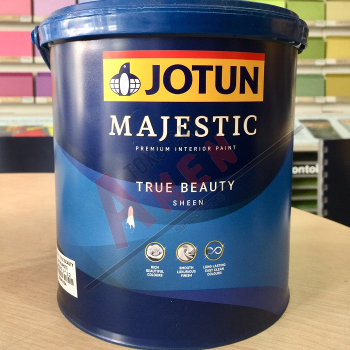 harga Jotun majestic true beauty sheen 2.5lt - green tea / cat tembok Tokopedia.com