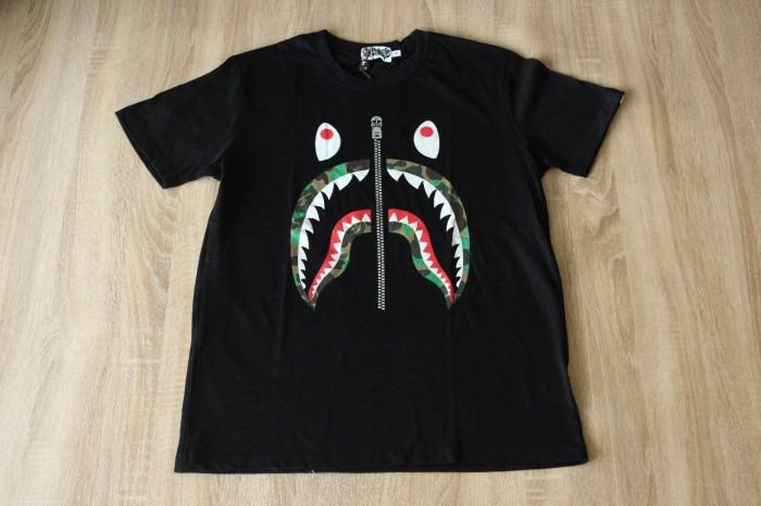 058eb05f Jual Bape Camo Tiger Shark Black Tee - Kota Batam - Hypetify.ID ...
