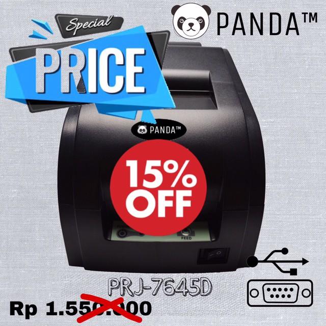 harga 76mm dotmatrix pos printer panda prj-pos7645 (usb+serial) Tokopedia.com