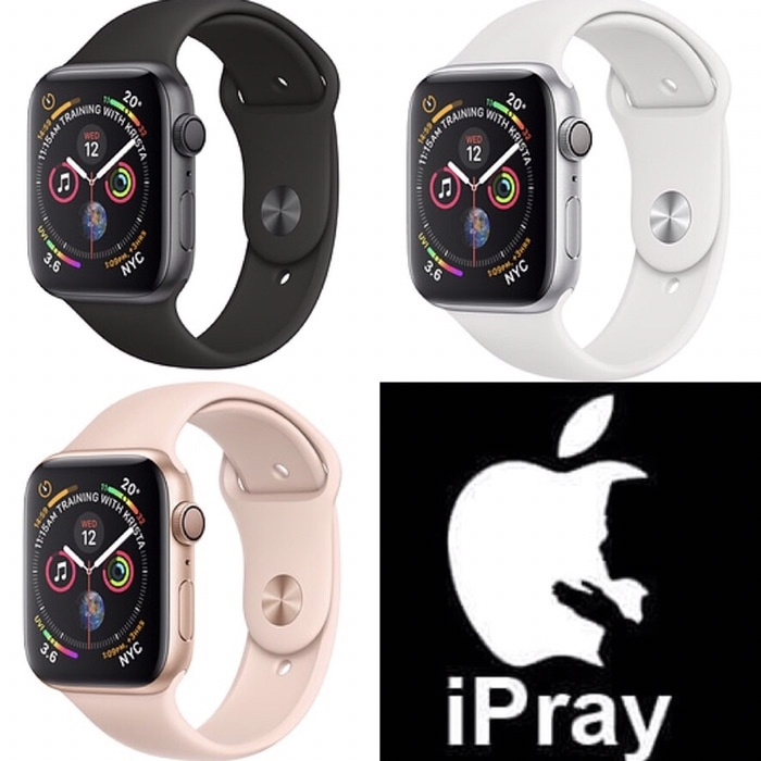 harga Apple watch series 4 gps 44mm aluminium with sport band Tokopedia.com