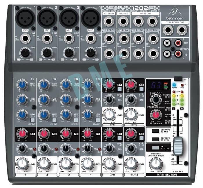 harga Mixer behringer xenyx 1202fx (original) Tokopedia.com